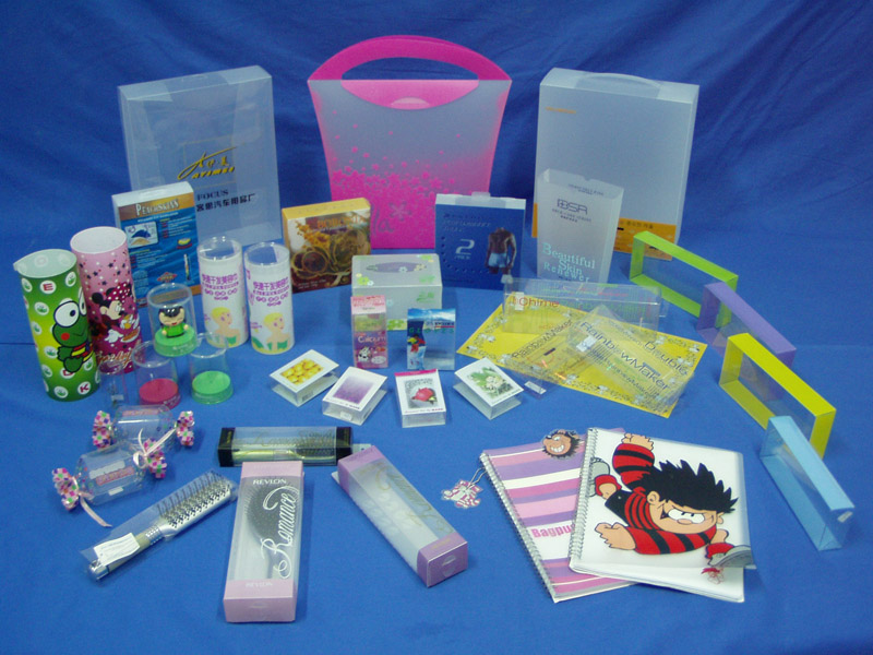 China Manufacturer Customized Various Shapes Clear Plastic PVC/PP/PET Box (fold package)