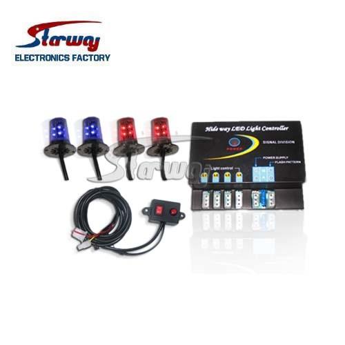 Warning Super LED Strobe Kits Hideaway LED Light (LED337D)