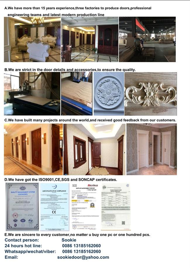 Villar Solid Wooden Door/Big Wooden Door/Big Villar Door (RA-N051)