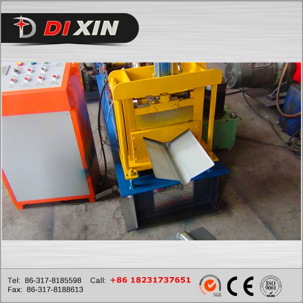 Ridge Roll Forming Machine Roof Tile Roll Forming, Metal Roof Ridge Cap Roll Forming Machine