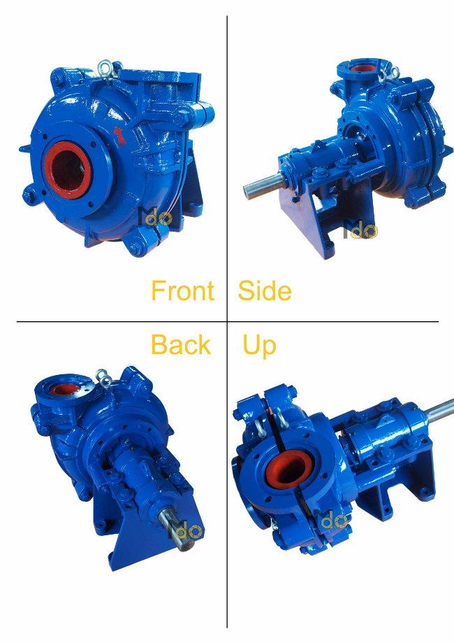 Diesel Engine Horizontal Centrifugal Slurry Pump