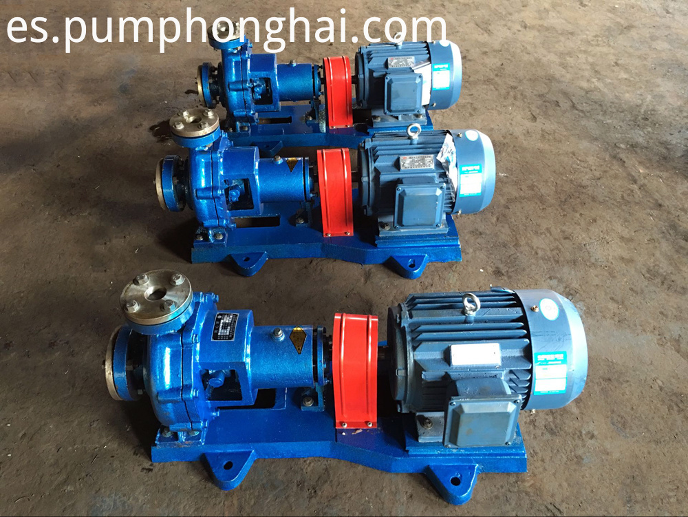 RY series high temperature hot liquid transfer pumps