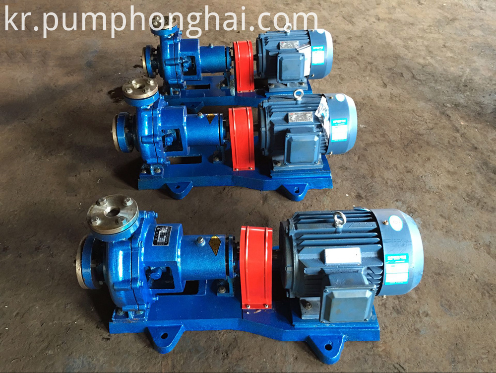 High temperature electric hot oil circulation pumps