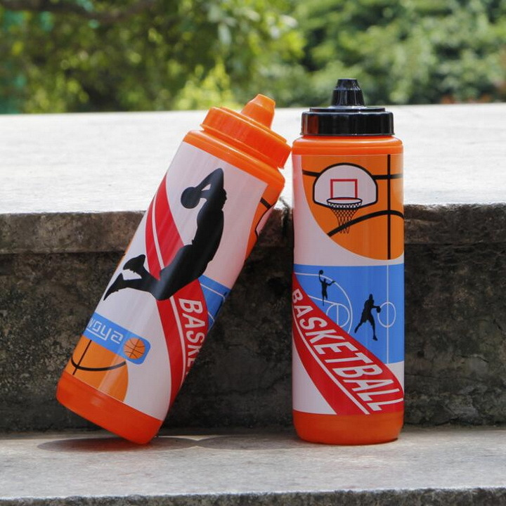 Water Bottle with Basketball Design for Promotion
