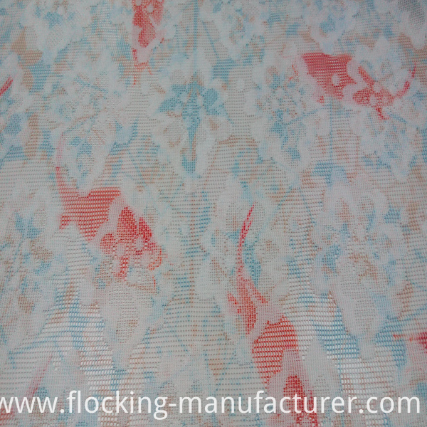 100% Polyester Mesh Lace Garment Fabric Home Textiles Fabric
