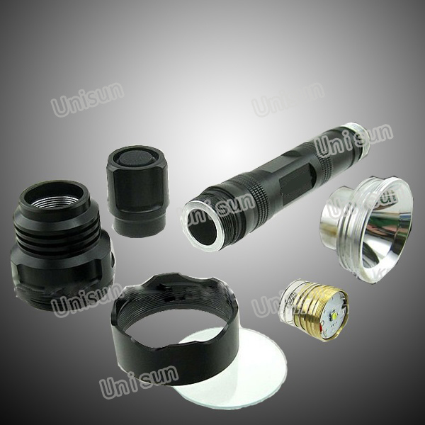 10W T6 CREE LED Aluminum Rechargeable Torch Light