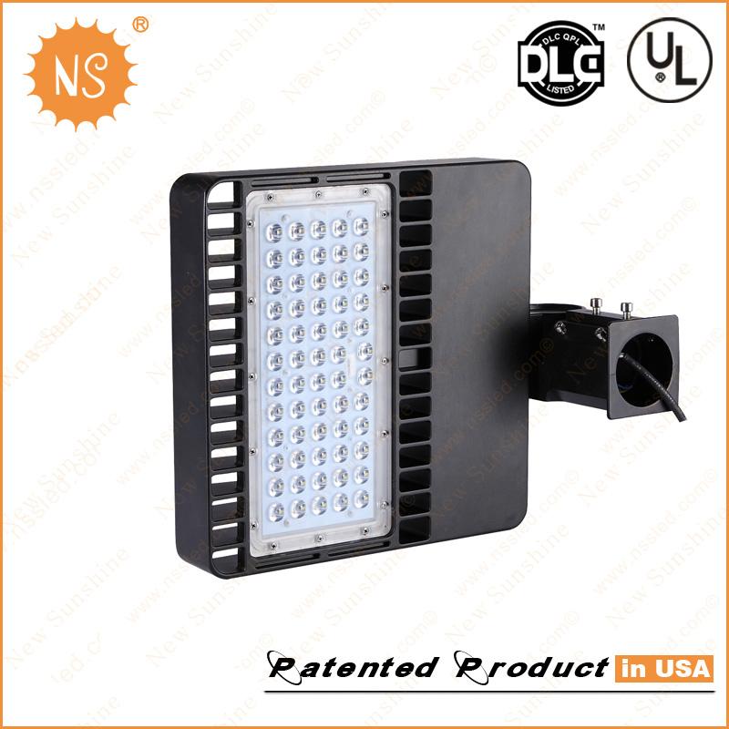 UL Dlc Parking Lot Lights IP65 Outdoor LED Shoe Box Light 100W