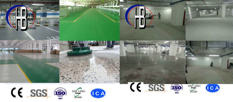 Epoxy Removal Machine, Planetary Floor Polishing and Grinding Machine Concrete Grinder with Best Price