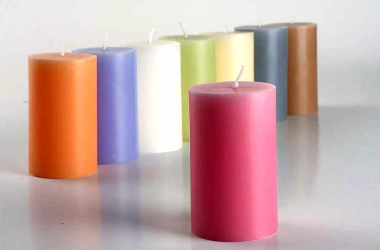 Fragrant Pillar Candle