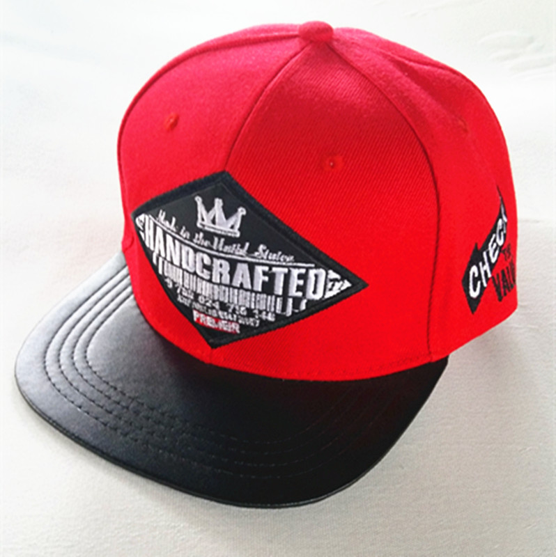 3D Embroidered Snapback Hat City Fashion Hat Trucker Cap