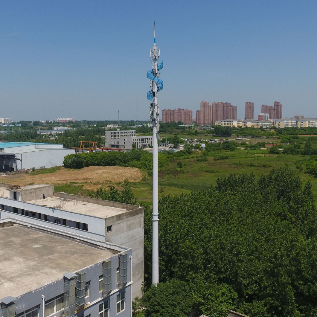 20-30m Medium-Wave Telecom Steel Tower Lamp Pole