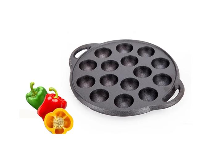 Tokoyaki Grill Pan with Octopus Ball Plates