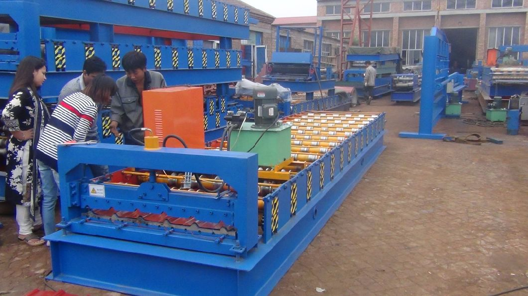 Dx Ibr Roof Sheet Roll Forming Machine