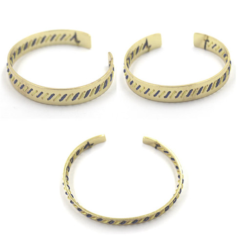 Wholesale Customized Matel Bracelets with Stainless Steel