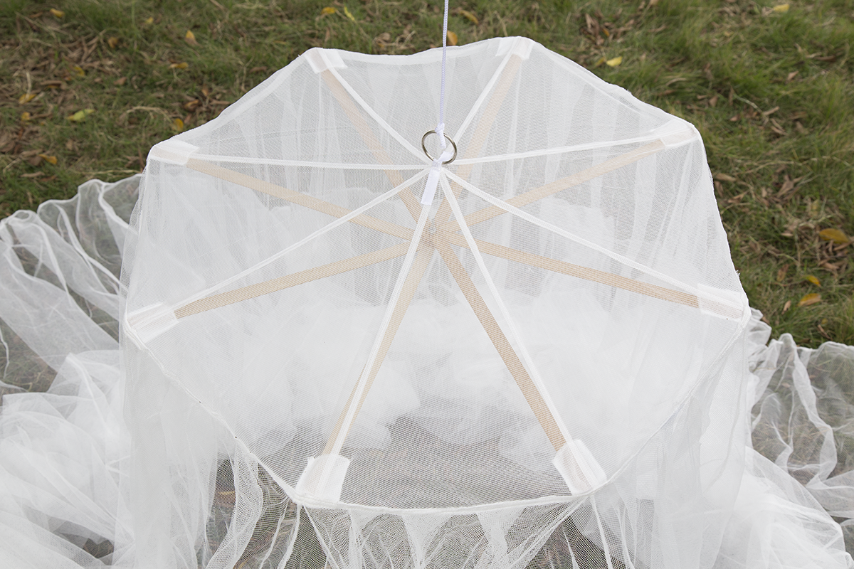 Hanging mosquito net for home balcony