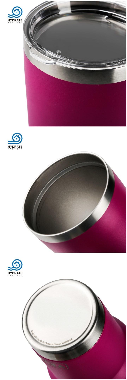 Stainless Steel 18/8 Vacuum Coffee Mug Tumbler Auto-Mug