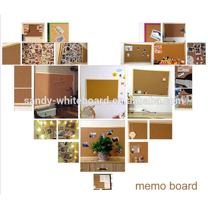 китай мини пробковые доски с фоторамкой белая рамка 25