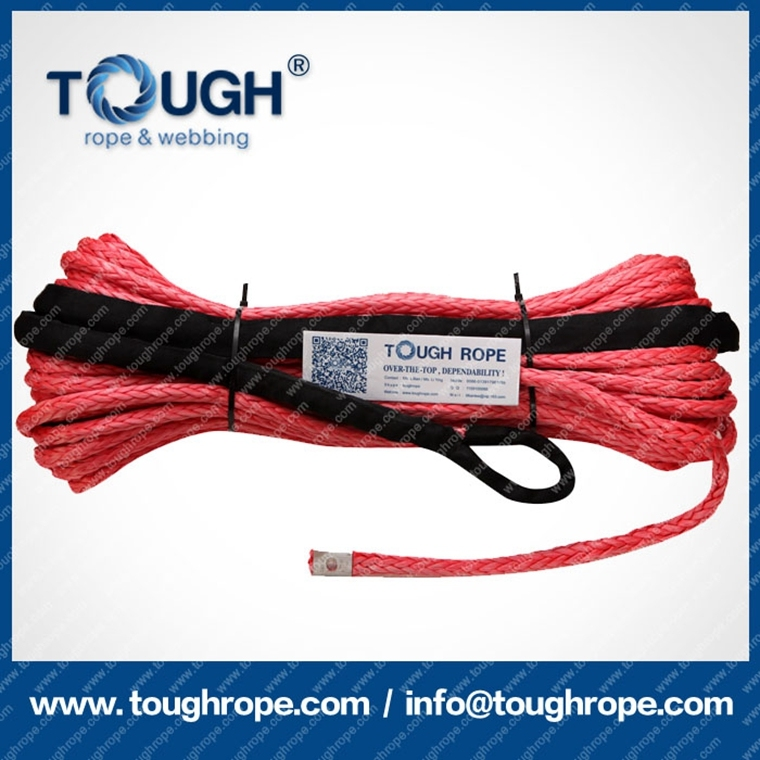 1mm-20mm High Strength UHMWPE Chipper Winch Line Machine Winch Rope