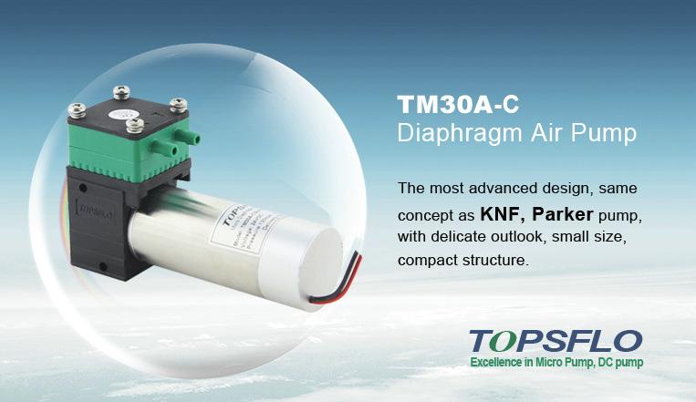 12V or 24V Air Vacuum Pump / DC Mini Diaphragm Pump