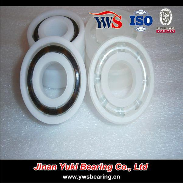 604 POM PP Low Friction Deep Groove Ball Bearing