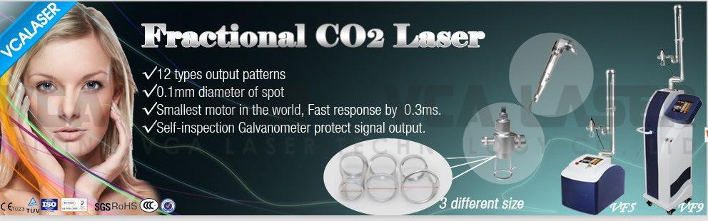 Scar Removal CO2 Fractional Laser Skin Resurfacing Machine