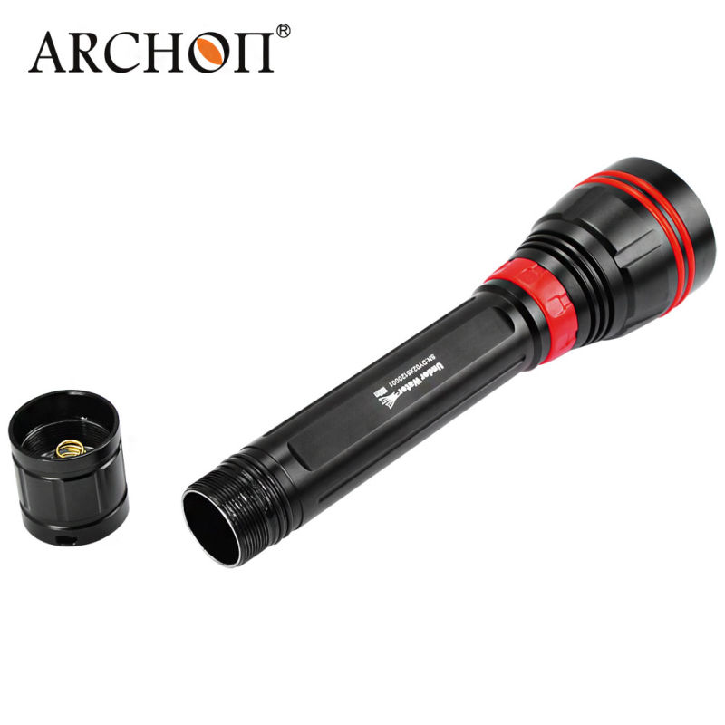 Waterproof Alluminum Alloy Rechargeable LED Torch Light 4000lm