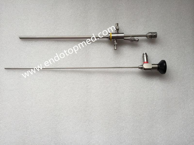 Gynecology Hysteroscope with Working Element Sheath 16fr