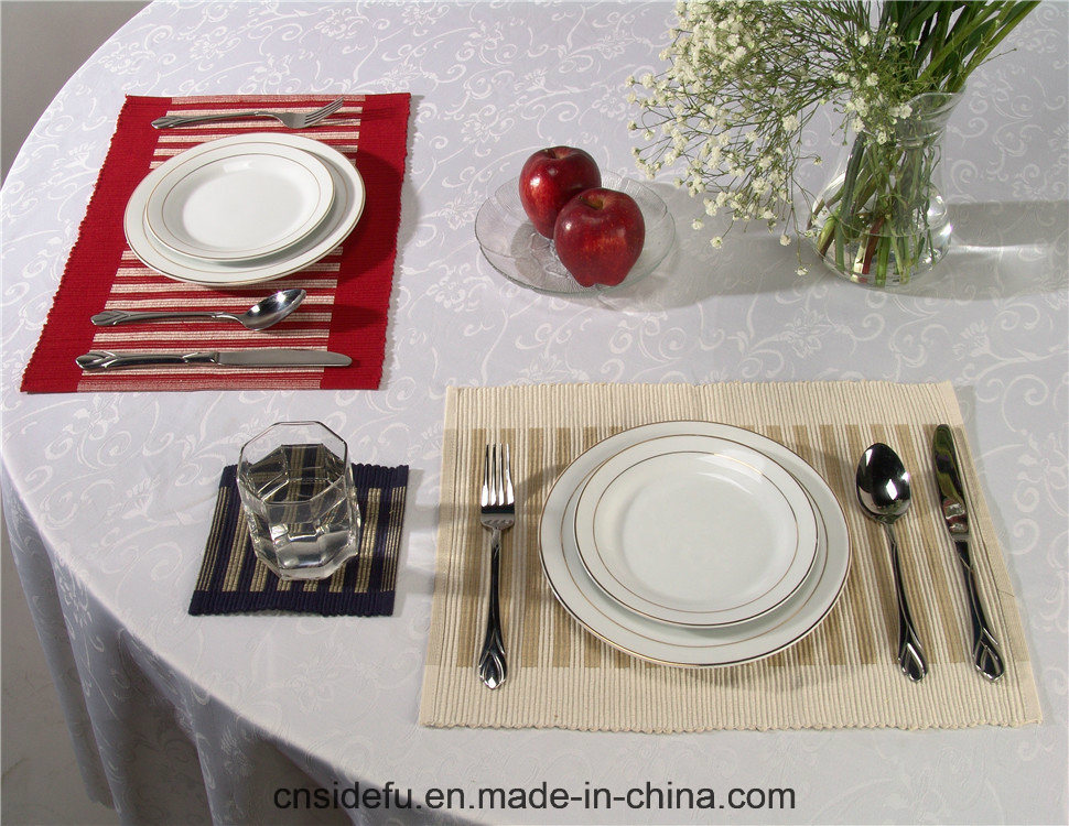 Promotional Hot Selling Hotel Felt Table PVC Placemat