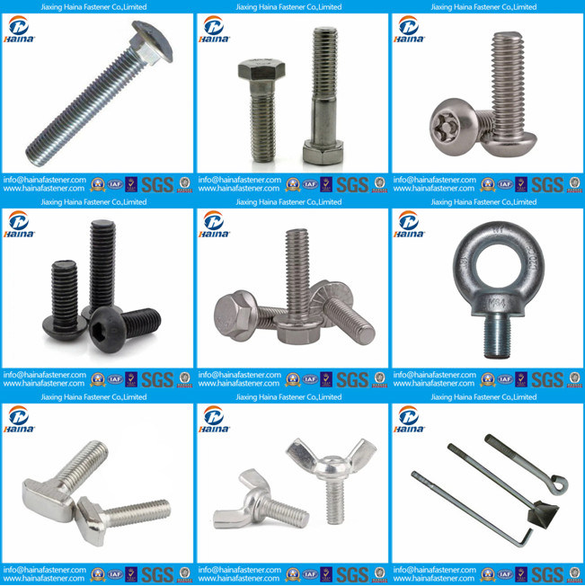 DIN6921 Stainless Steel Ss304 Hex Flange Bolts