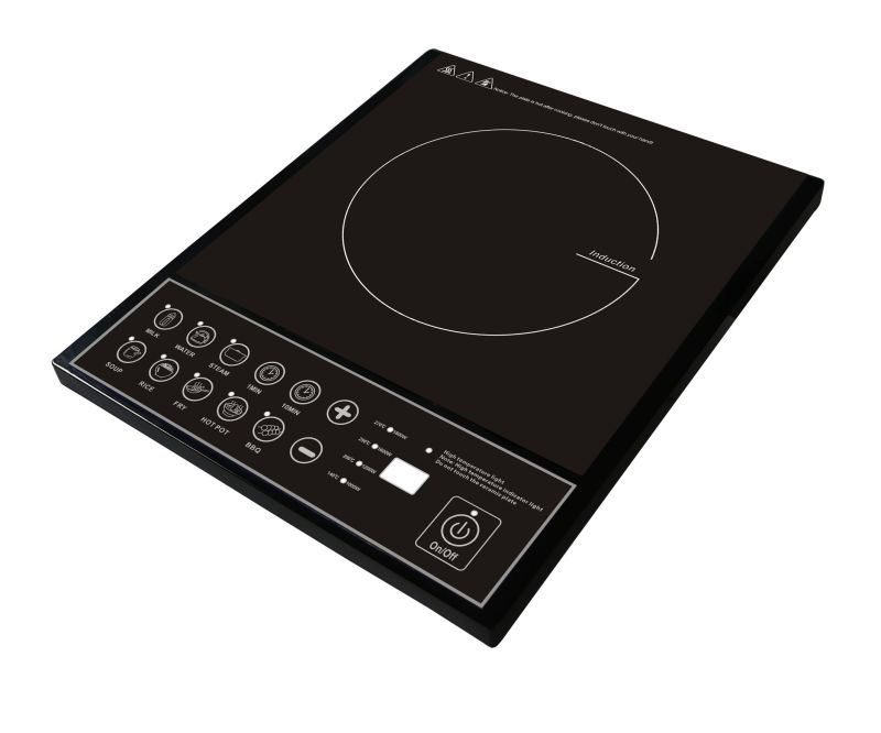 CE CB RoHS 2000W electric singl induction hob for Spain market