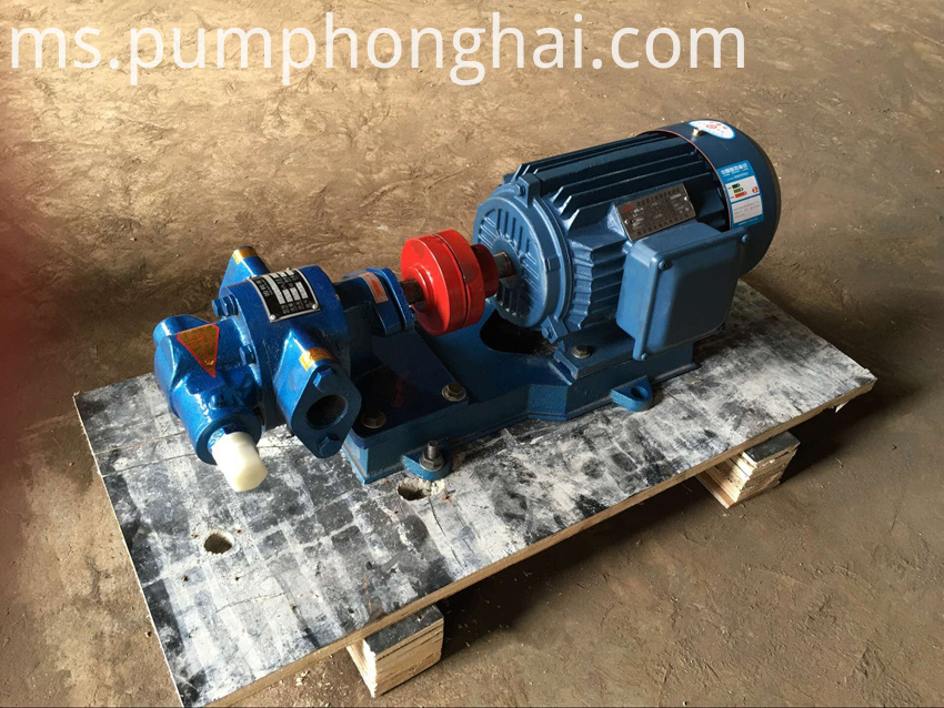 KCB18.3-8.3.3 cast iron gear pump
