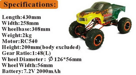 for 12 Years Kid High Speed Powerful RC Car