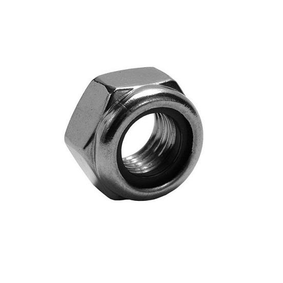 DIN985 SUS304 M6 Nylon Insert Lock Nut