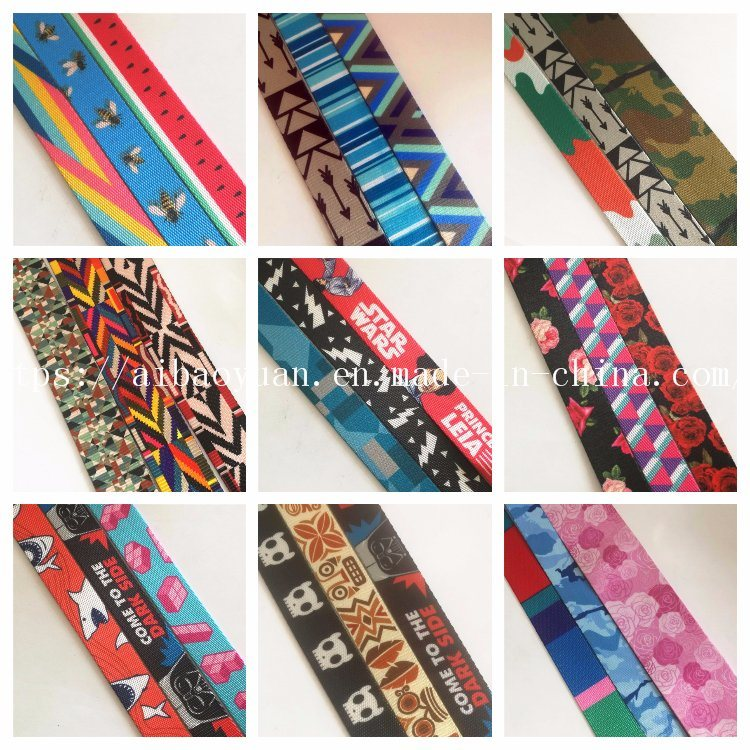 Variety of Heat Transfer Printing Fashion Ribbons