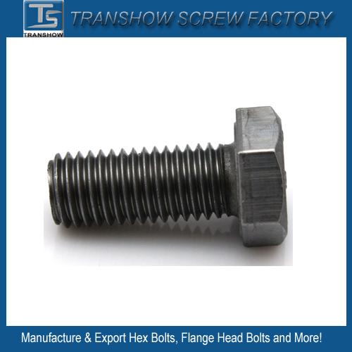 Galvanized Steel Hex Bolt DIN558