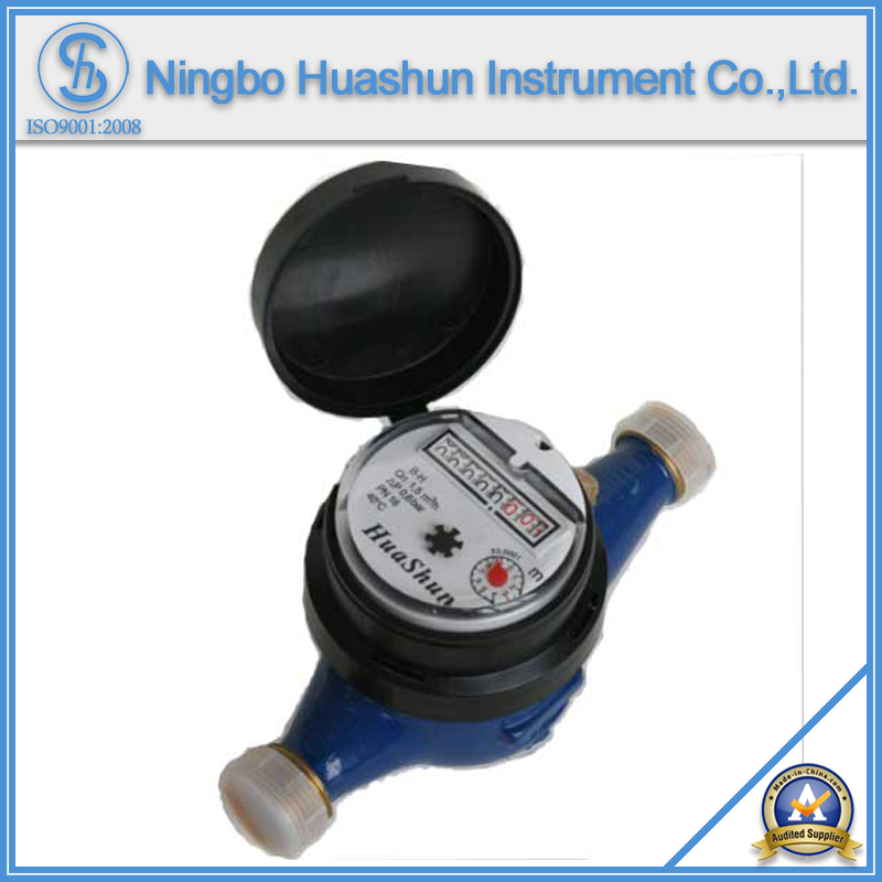 Multi-Jet Dry Type Brass Body Water Meter (15K-20K)