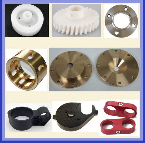 CNC Aluminum Lathe Machine Mechanical Precision Turned Parts