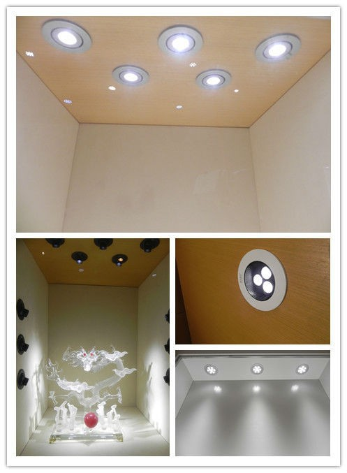 1W 3W LED Spot Cabinet Light with Dimmable Version for Showcase