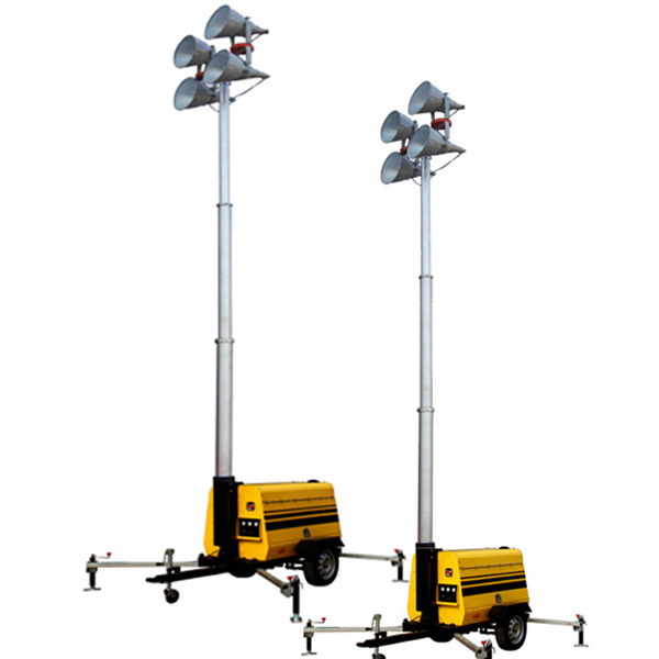 Diesel Tower Light with 1000 W *4 LED Light