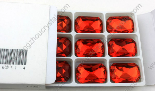 New Hot Crystal Loose Octagom Stones Diamond Clothing Beads Wholesale Pujiang