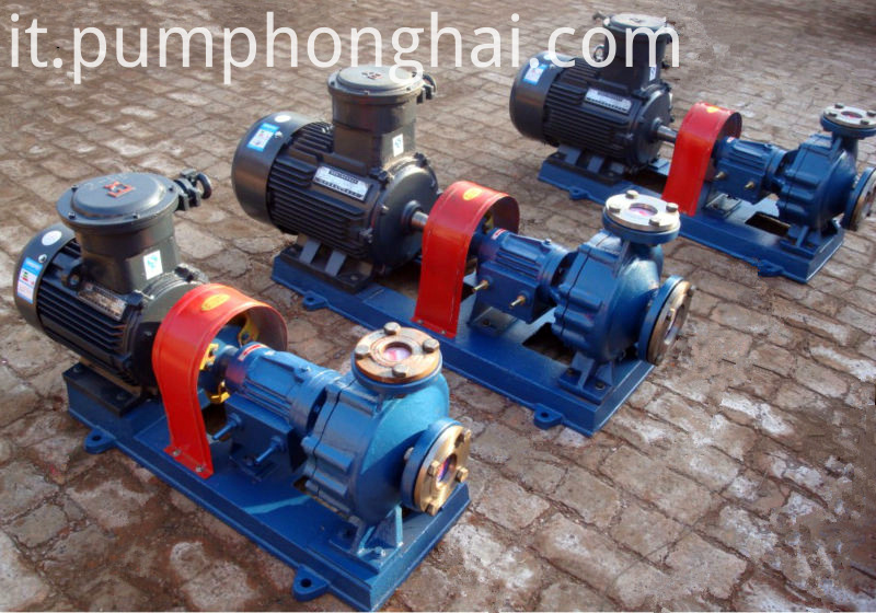 Cast steel hot oil circulation pump