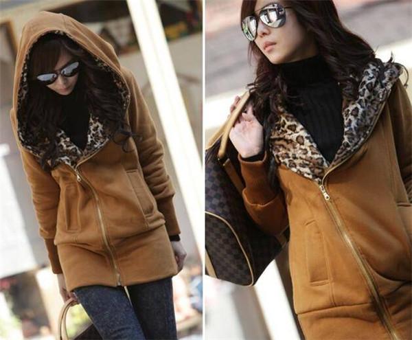 Cheap Women Coat Black 100% Polyester Jacket