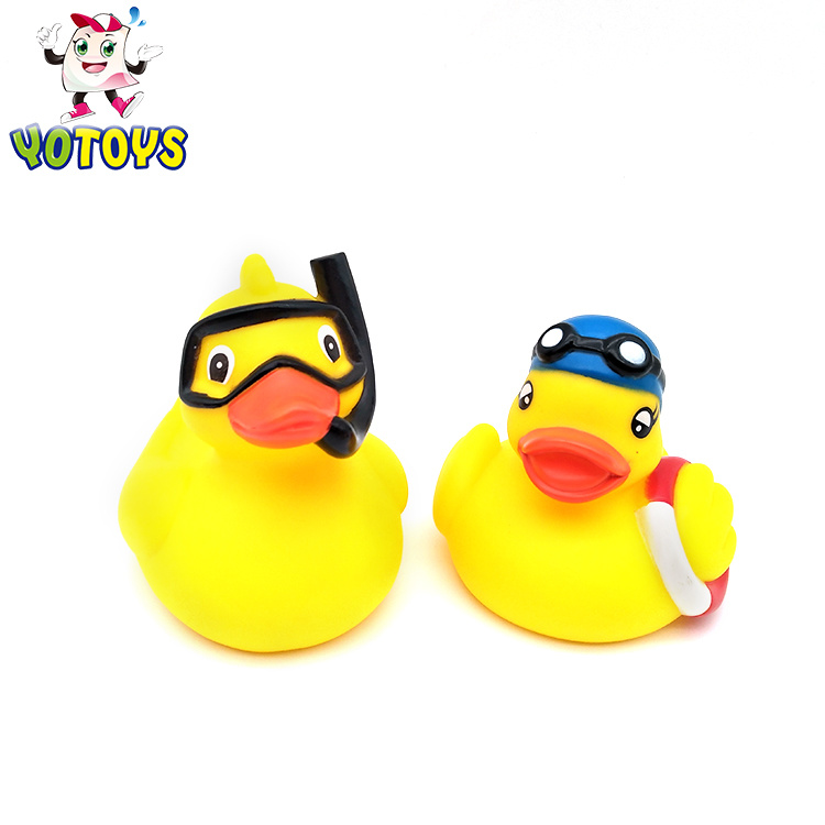 Swimming Duck with Glass Squirt Toy