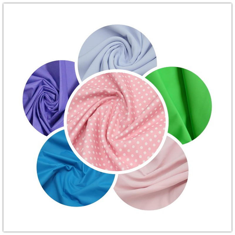 210t 100%Polyester Fabric Pongee Dyed Fabric