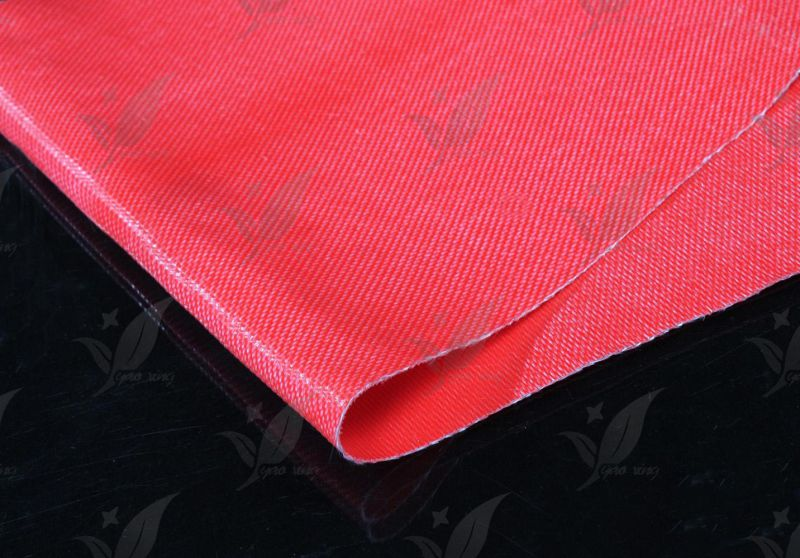 Silicone Rubber Coated Fiberglass Cloth One Side