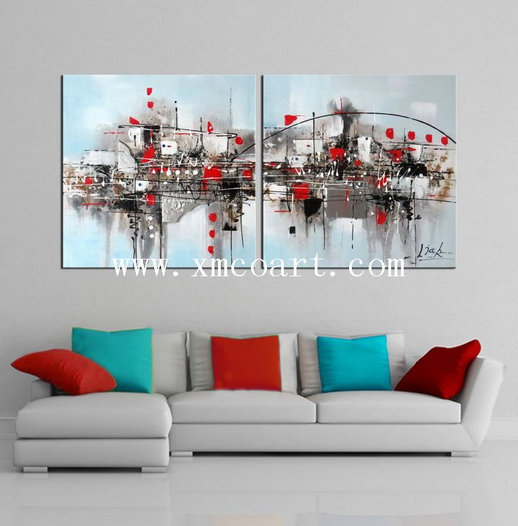Modern Home Decoration Wall Art Oil Painting (new-335)