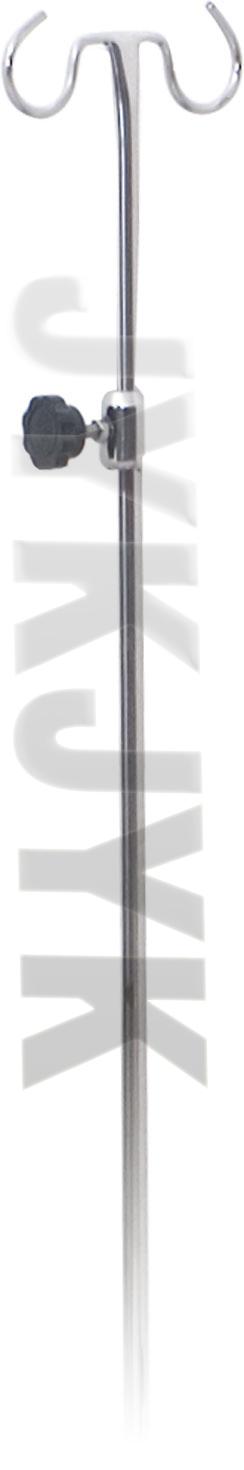 Stainless Steel Hospital IV Rod