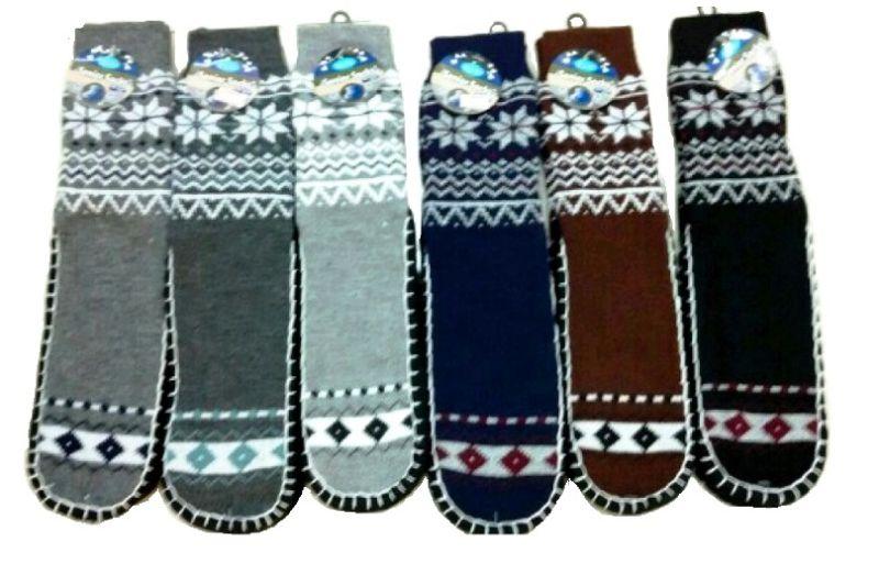Men Knitted Anti-Slip Christmas Floor Socks Factory Manufacturer