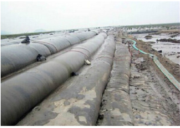PP Sand Slurry Geotube Dewatering Filter Bag for Sea Wall Protection