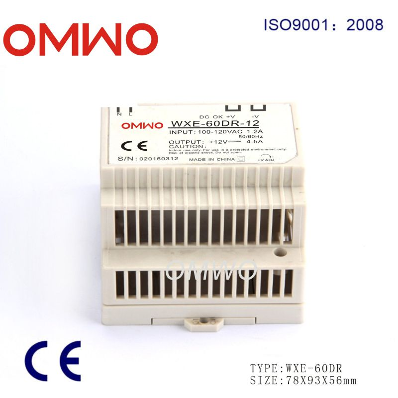 60W DIN Rail LED Switch Power Supply